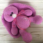 Куклы и игрушки handmade. Livemaster - original item Knitted toys-hare. Handmade.