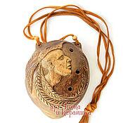 """Музыкальные инструменты handmade. Livemaster - original item Hand-made clay Ocarina (Tin whistle) """"Shaman"""".Exclusive. Handmade."""