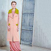 Одежда ручной работы. Ярмарка Мастеров - ручная работа Удлиненный кашемировый жилет - розовая пудра. Handmade.