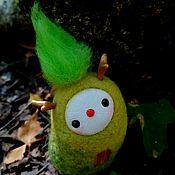 """Статуэтка ручной работы. Ярмарка Мастеров - ручная работа Статуэтка: Лесной волшебник: """"Хранитель зелени"""". Handmade."""