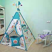 Мебель ручной работы. Ярмарка Мастеров - ручная работа Вигвам шалаш для малышей. Handmade.