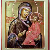 Картины и панно handmade. Livemaster - original item The icon of the mother of God of Tikhvin , hand painted icon. Handmade.