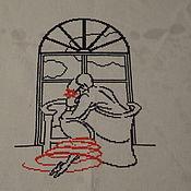 Картины и панно ручной работы. Ярмарка Мастеров - ручная работа У окна. Handmade.