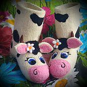 """Обувь ручной работы. Ярмарка Мастеров - ручная работа Валенки детские  """"Милка"""". Handmade."""