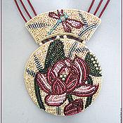 """Украшения ручной работы. Ярмарка Мастеров - ручная работа Колье """"Лотос"""". Handmade."""