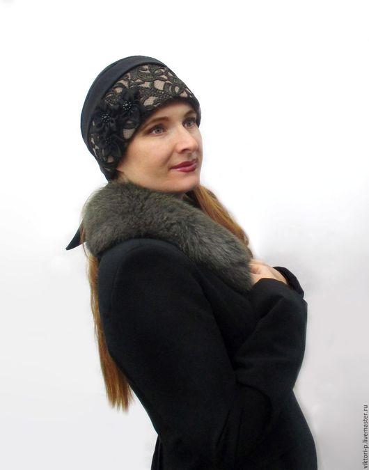 Шапочка из джерси Княжна от Viktori P