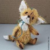 Куклы и игрушки ручной работы. Ярмарка Мастеров - ручная работа Тедди-лис Лео. Handmade.