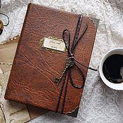 Канцелярские товары handmade. Livemaster - original item Notebook Twin Peaks. Handmade.