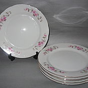 Винтаж ручной работы. Ярмарка Мастеров - ручная работа Столовые тарелки Япония. Handmade.