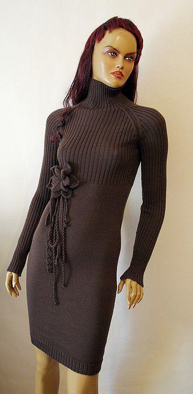 Платья ручной работы. Ярмарка Мастеров - ручная работа. Купить платье П-217. Handmade. Платье на заказ, джемпер вязаный