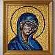 Mosaic. The mother of God based on Greek mosaic from Crete, Icons, Samara,  Фото №1