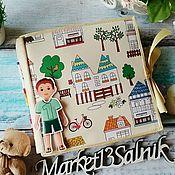 Куклы и игрушки handmade. Livemaster - original item Large doll house made of felt for boys. Handmade.