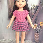 Куклы и игрушки ручной работы. Ярмарка Мастеров - ручная работа наряд для паолочки розовый. Handmade.