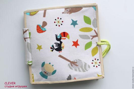 Развивающие игрушки ручной работы. Ярмарка Мастеров - ручная работа. Купить Развивающая книга, 0+. Handmade. Комбинированный, развивающая игрушка