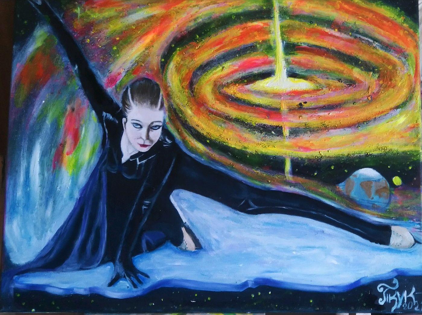взрыв новой или через терни к звёздам, Картины, Санкт-Петербург,  Фото №1