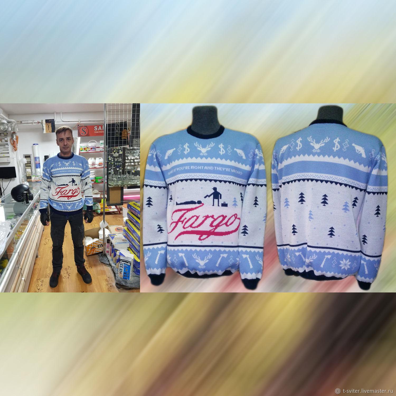 Тату-свитер - Фарго (вариант 2), Свитеры, Москва,  Фото №1