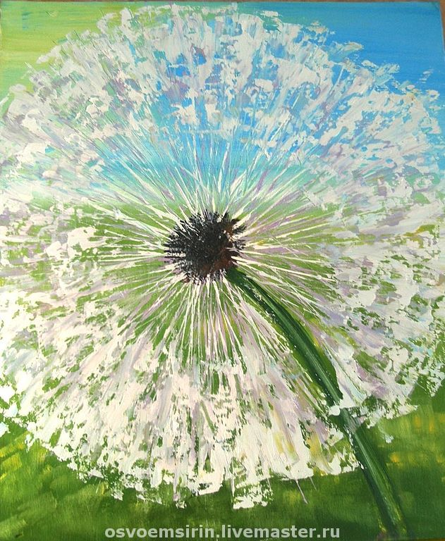 The Painting 'The Dandelion', Pictures, Novosibirsk,  Фото №1