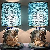 Для дома и интерьера ручной работы. Ярмарка Мастеров - ручная работа голубые ангелочки. Handmade.