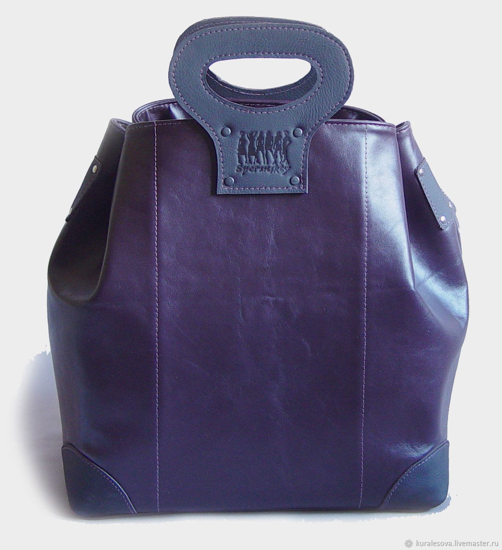 Handbags handmade. Livemaster - handmade. Buy Leather bag 'shopping'.Hand-made, buy a bag, bags for women