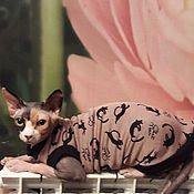"""Одежда для питомцев ручной работы. Ярмарка Мастеров - ручная работа Одежда для кошек """"с мехом внутри - Черная кошка"""". Handmade."""