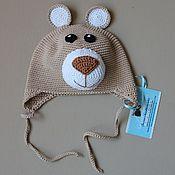 Работы для детей, ручной работы. Ярмарка Мастеров - ручная работа Детская шапка «Мишка». Handmade.