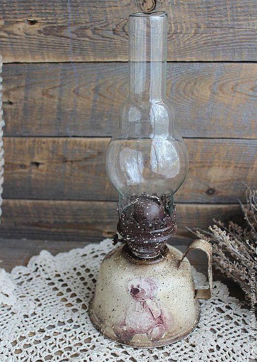 """Освещение ручной работы. Ярмарка Мастеров - ручная работа. Купить """"Мишутка"""" лампа. Handmade. Коричневый, лампа настольная"""