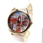 Украшения ручной работы. Ярмарка Мастеров - ручная работа Дизайнерские наручные часы London. Handmade.