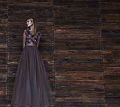 Одежда ручной работы. Ярмарка Мастеров - ручная работа Платье цвета хаки.. Handmade.