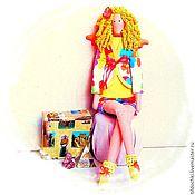 Куклы и игрушки ручной работы. Ярмарка Мастеров - ручная работа Фея летних путешествий Фаина. Handmade.