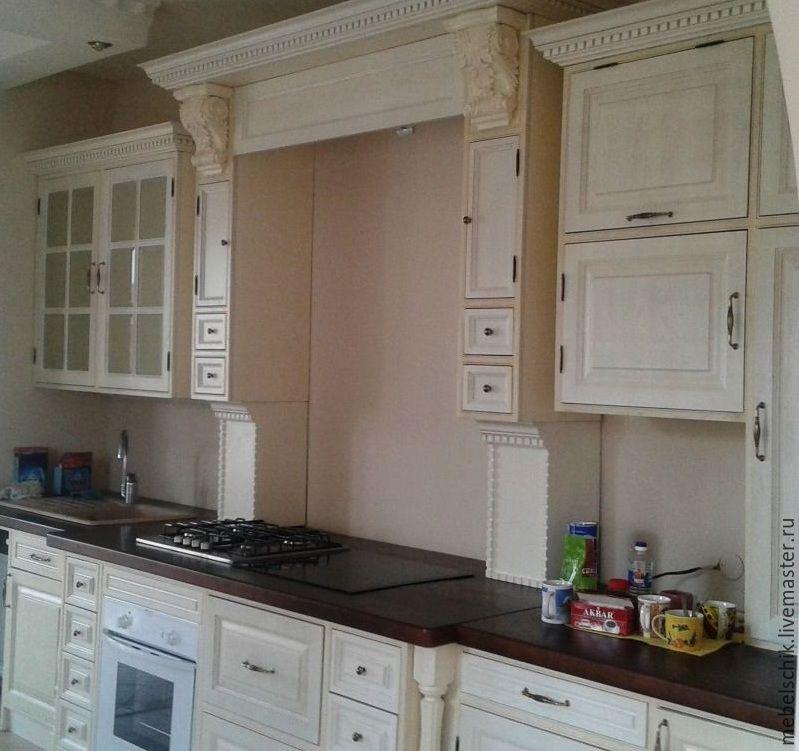 мебель для кухни белая на заказ