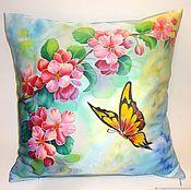 Для дома и интерьера handmade. Livemaster - original item Batik pillow