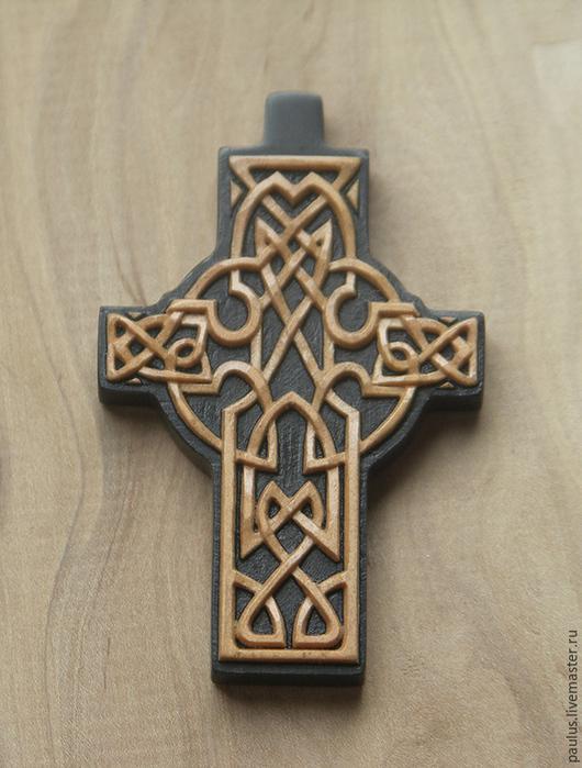 Крестик деревянный резной. Павел. Ярмарка Мастеров.