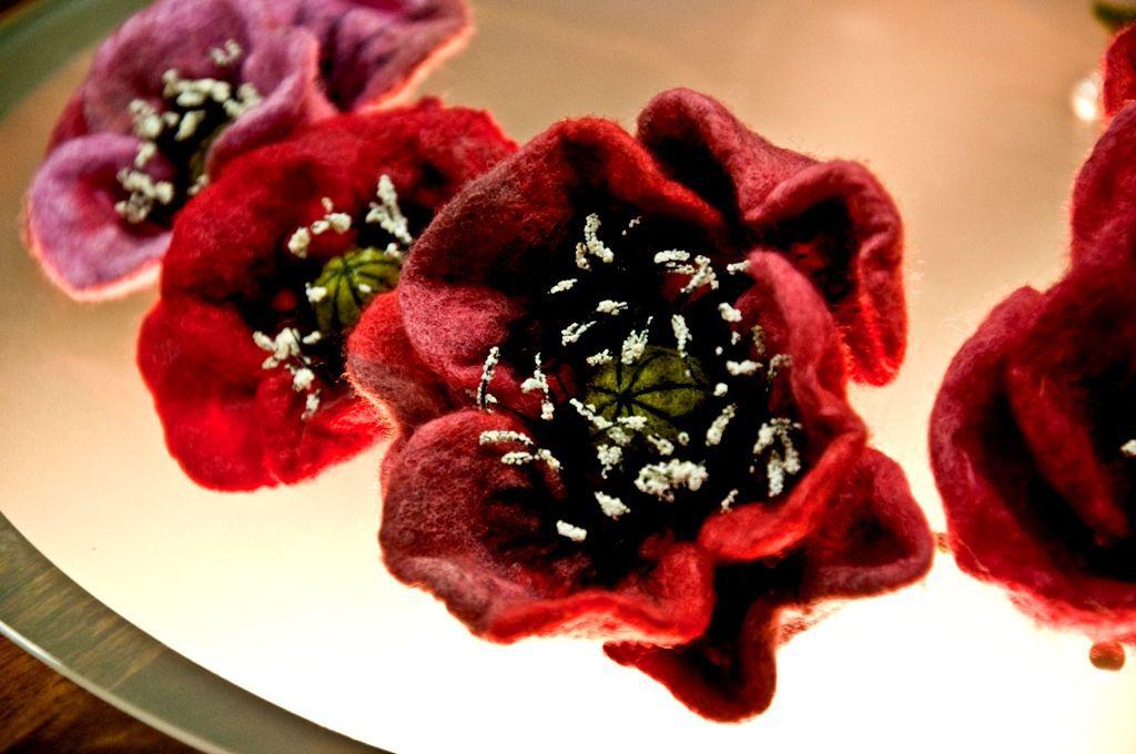 Necklace 'Poppies', Necklace, Kiev,  Фото №1