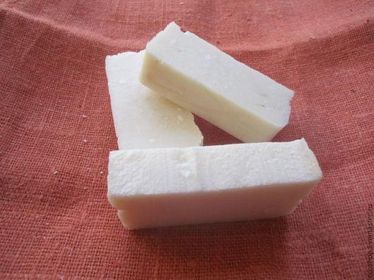 Мыло ручной работы. Ярмарка Мастеров - ручная работа. Купить Натуральное хозяйственное мыло. Handmade. Белый, для стирки для посуды