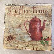 Для дома и интерьера ручной работы. Ярмарка Мастеров - ручная работа Коробка для кофе. Handmade.