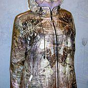 Одежда ручной работы. Ярмарка Мастеров - ручная работа Пальто стеганое в пол. Handmade.