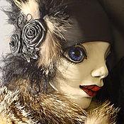 """Куклы и игрушки ручной работы. Ярмарка Мастеров - ручная работа Кукла-подвеска """"Мадмуазель"""". Handmade."""