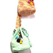 """Сумки и аксессуары ручной работы. Ярмарка Мастеров - ручная работа Вязаная сумка, женская сумка  """"Мята"""", сумка торба, колумбийская мочила. Handmade."""