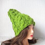 Аксессуары handmade. Livemaster - original item light green cap