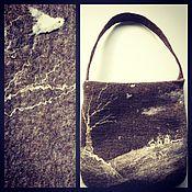Сумки и аксессуары ручной работы. Ярмарка Мастеров - ручная работа валяная  сумка -Простор , сумка ручной работы,. Handmade.