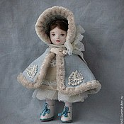 Девочка в голубом 8,5 см