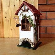 Для дома и интерьера ручной работы. Ярмарка Мастеров - ручная работа Чайный фахверковый домик. Handmade.