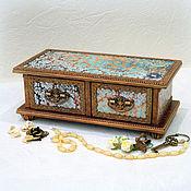Для дома и интерьера handmade. Livemaster - original item Chest of drawers jewelry box