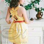 """Одежда ручной работы. Ярмарка Мастеров - ручная работа Платье """"Фрезия """". Handmade."""
