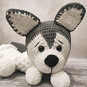 Куклы и игрушки handmade. Livemaster - original item Pyjamnitsa Husky or Guardian of pajamas and children`s dreams. Handmade.