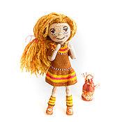 Куклы и игрушки ручной работы. Ярмарка Мастеров - ручная работа Кукла рыжулька Мерида. Handmade.