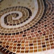 """Для дома и интерьера ручной работы. Ярмарка Мастеров - ручная работа Стол обеденный """"Шоколадный микс"""", мозаика. Handmade."""
