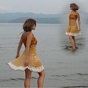 Одежда ручной работы. Ярмарка Мастеров - ручная работа сарафан Прелестница. Handmade.