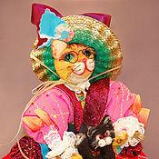 Куклы и игрушки ручной работы. Ярмарка Мастеров - ручная работа Кошка Муршель. Handmade.