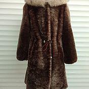 Одежда handmade. Livemaster - original item Fur coat for girls. Handmade.